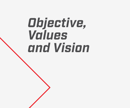 Objective, Values and Vision