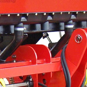 Individual fertilizer exits at every 220mm.