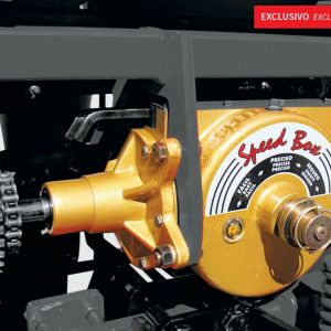Gear Box with quick change and 62 configuration (working inner oil)