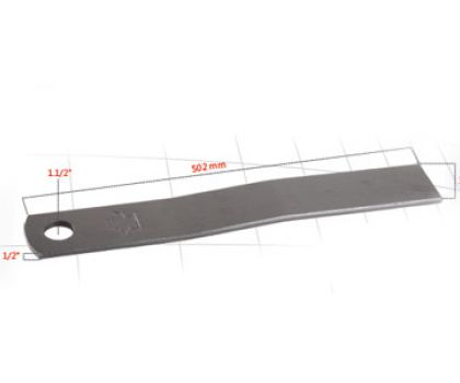 Auxiliary blunt Blade