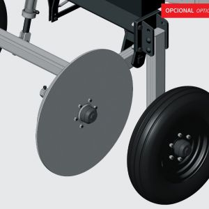 Transport kit available only for PNA 3000 with iron wheel.
