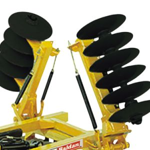 Leveling Disc Harrow Remote Control Articulated by spring (NVAM).