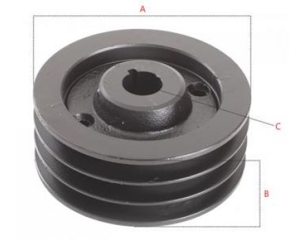 Pulley (Hub) for shearer