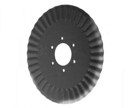 Grooved Flat Discs