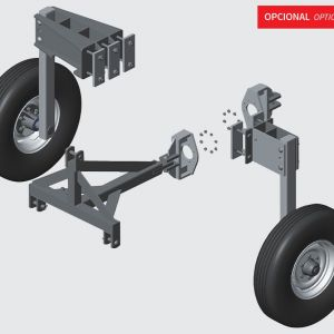 Lateral transport system mechanical and semi-hydraulic