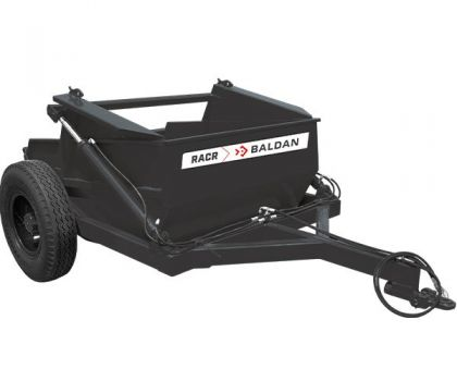 RACR - Remote Control Agricultural Scraper Unit with Lateral Wheels
