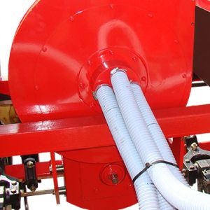 Turbine driven by PTO shaft.