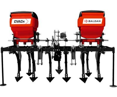 CVAC-N/CTV-N - Mounted Row Grop Cultivator and Fertilizer