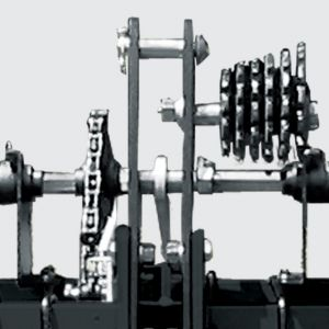 Transmission system with quick and practical exchange.