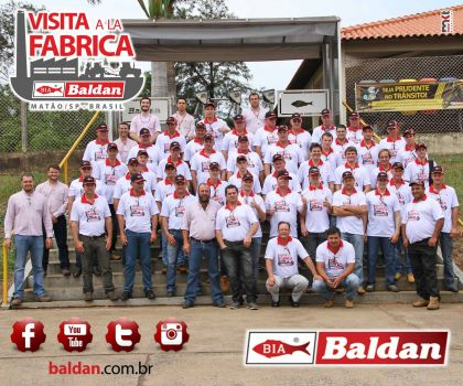 Baldan welcomes visitors from Paraguay